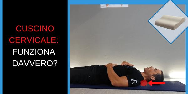 Il cuscino cervicale funziona davvero?