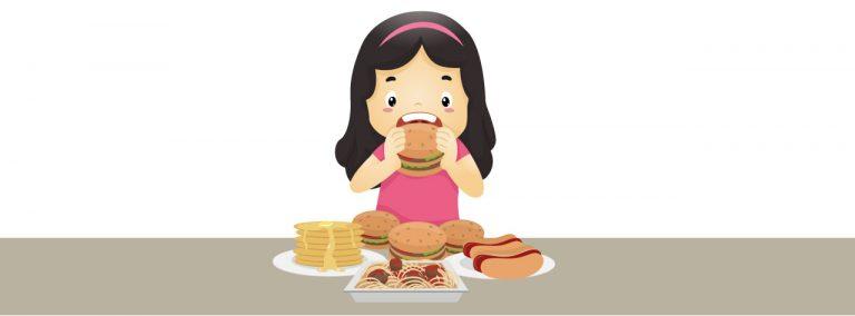 molto affamato e perdita di pesona
