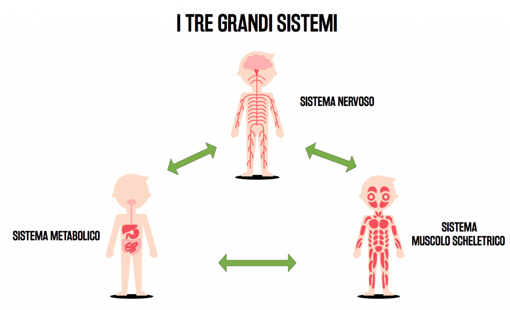 i tre grandi sistemi