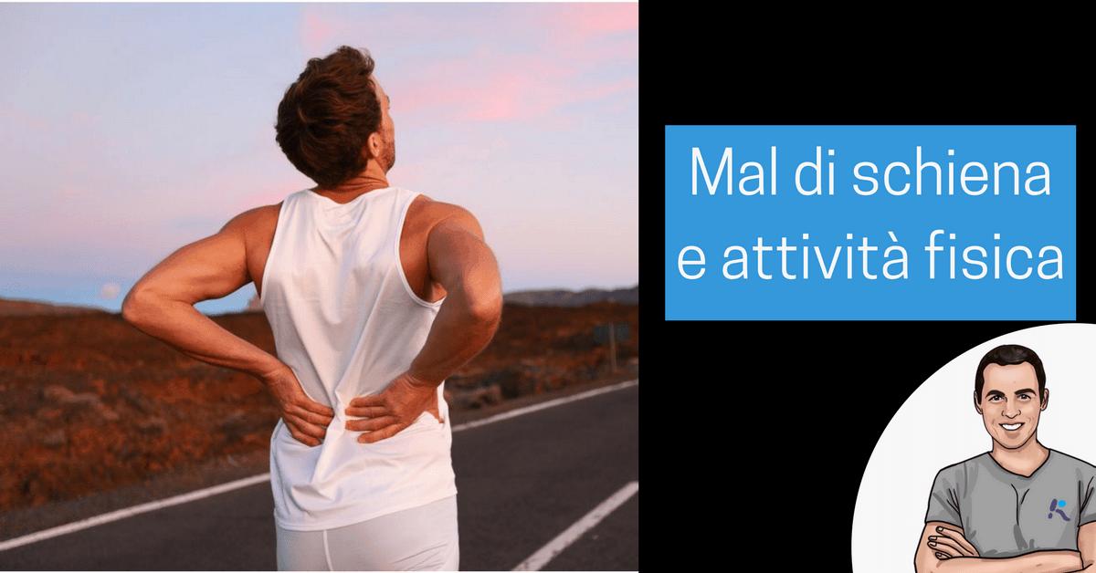89fa73957e Quale sport fare o evitare per il mal di schiena? Come fare attività fisica  anche con ernie, discopatie o artrosi - L'Altra Riabilitazione