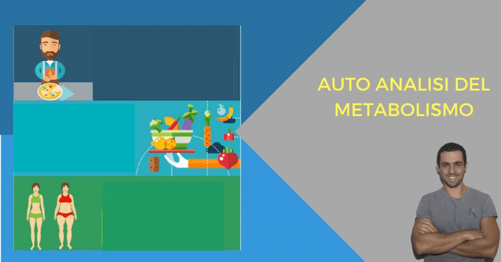 Auto-analisi del metabolismo (infografica)