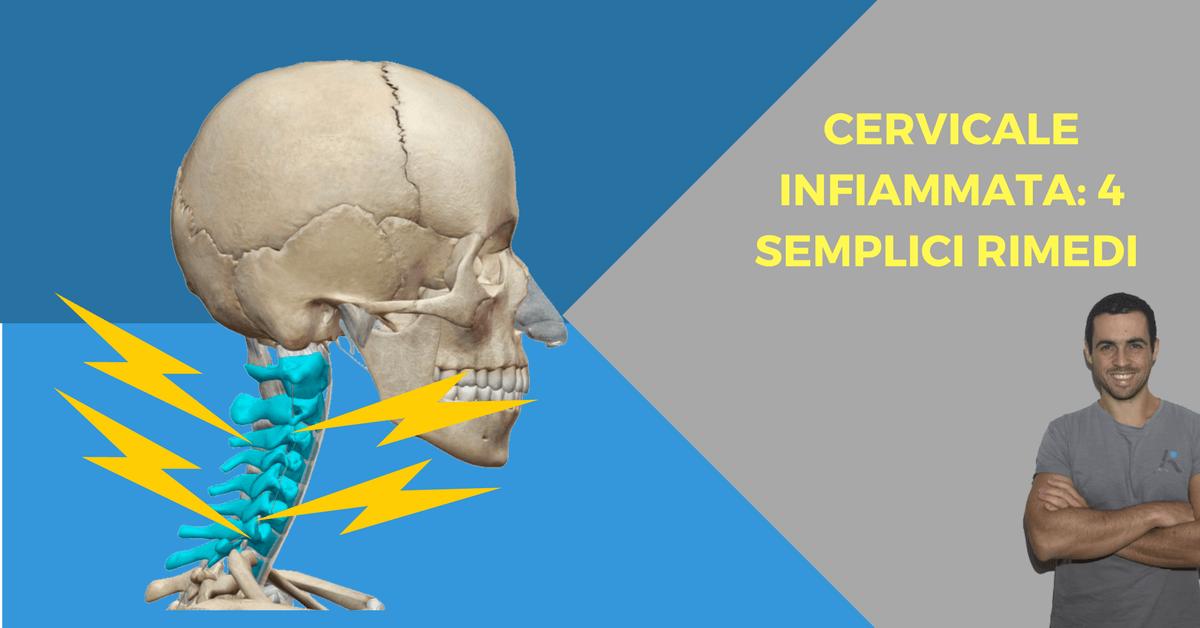 Cervicale infiammata 4 semplici rimedi per i dolori for Mal di testa da cervicale quanto puo durare