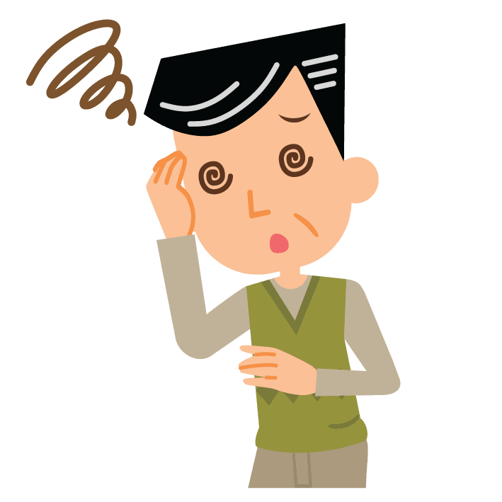 Problemi agli occhi, vertigini e sbandamenti