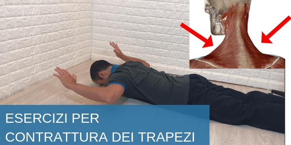 Contrattura trapezio e muscoli del collo: sintomi, esercizi e rimedi naturali