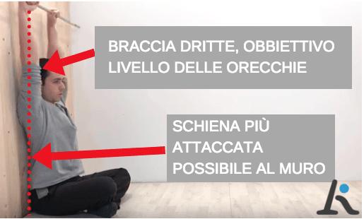 test mobilità spalle