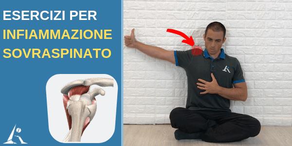 Infiammazione o lesione del SOVRASPINATO: cosa fare (esercizi molto efficaci)