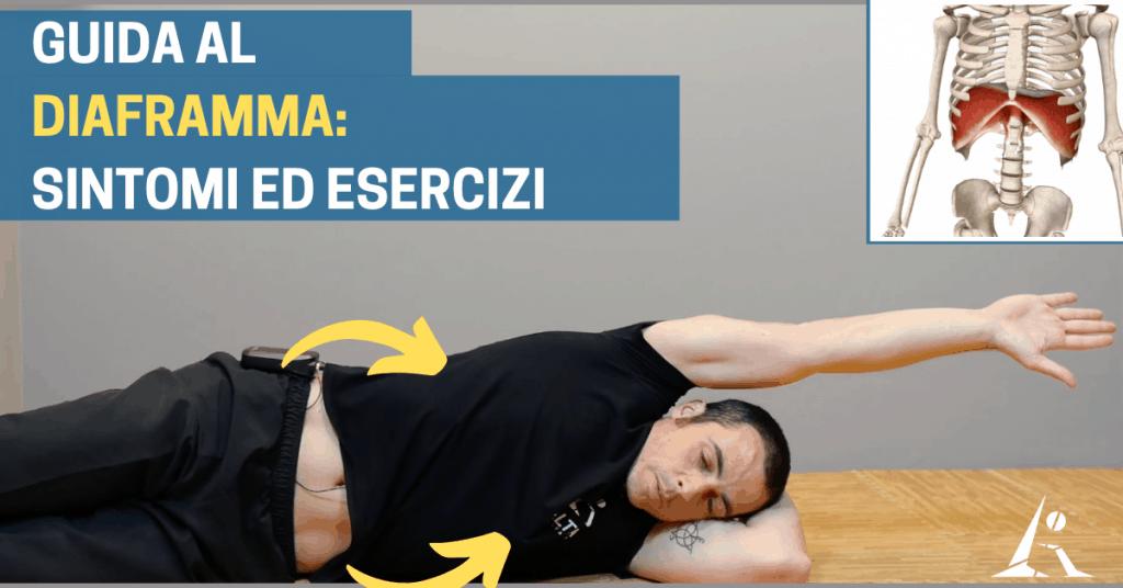 """Muscolo DIAFRAMMA: cosa succede quando è """"BLOCCATO"""" (+ ESERCIZI per """"sbloccarlo"""")"""