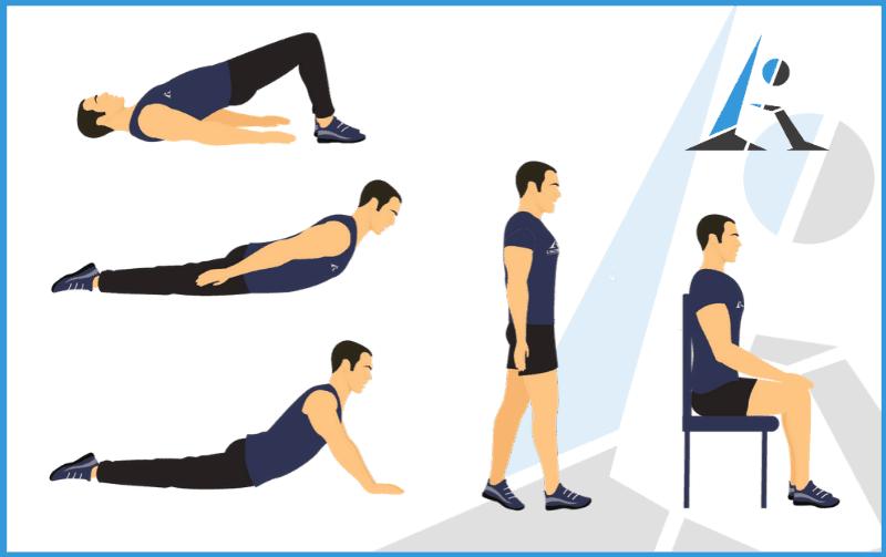 rimettiti in forma esercizi