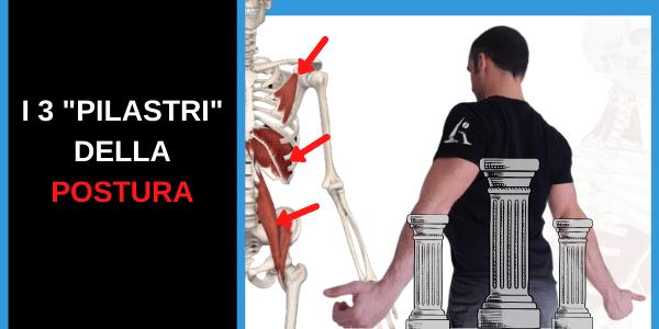 """POSTURA CORRETTA: come ottenerla con la """"Strategia dei 3 pilastri"""""""
