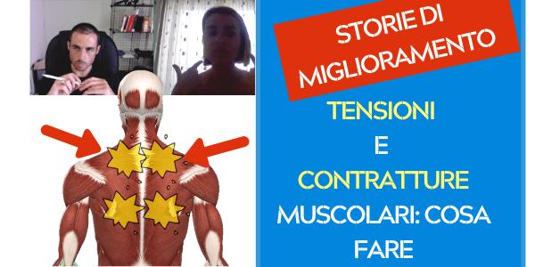 TENSIONE e CONTRATTURE muscolari: come me ne sono liberata giorno dopo giorno